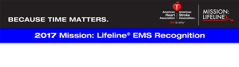 Mission: Lifeline 2017 EMS Recognition