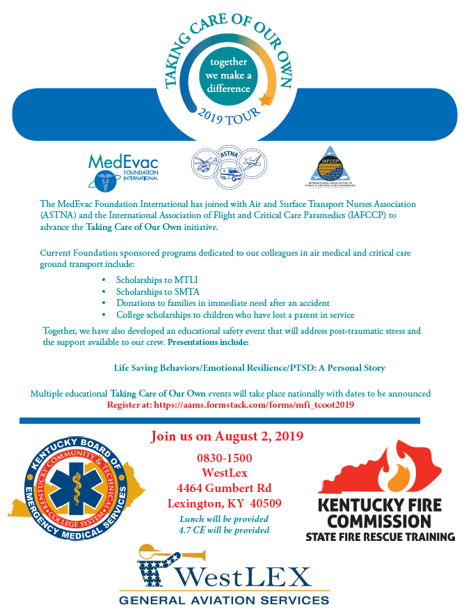 August 2019 Taking Care of Our Own Event PSTD Lexington, KY
